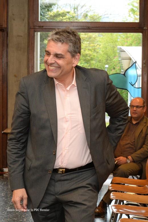 PDC Vernier invite Luc Barthassat - DGUYOT (25)